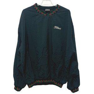 Titleist Turfer Winbreaker Pullover Jacket Black